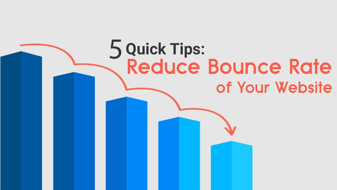 5 Ways that will lower the bounce rate