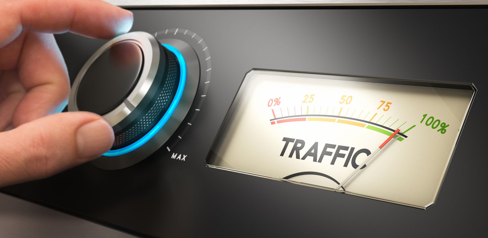 how to get traffic