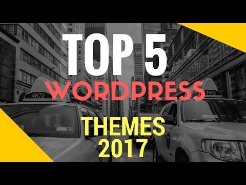 top 5 wordpress themes