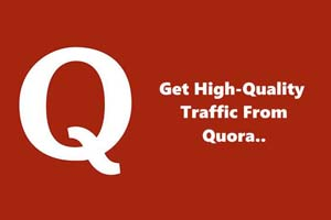 free traffic from quora